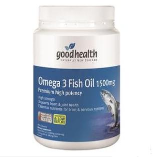 【PD新西兰药房】Good Health 好健康 1500mg深海鱼油胶囊 400粒