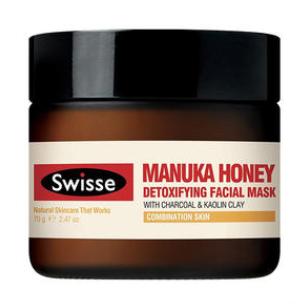 【PD新西兰药房】【深层扫尽肌肤垃圾】Swisse 麦卢卡蜂蜜净化排毒面膜 70g-每单限购1件