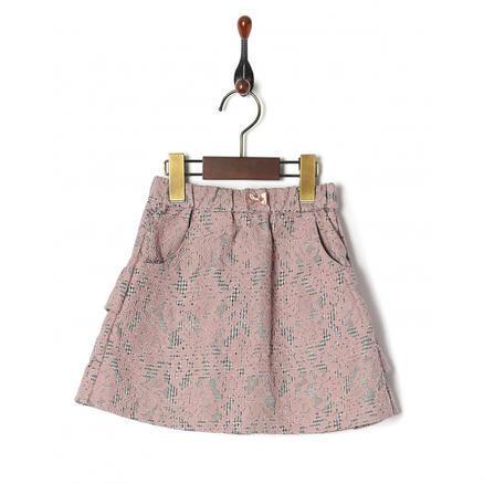 【4.6折】LE COU COU 格纹+蕾丝裙