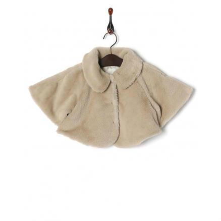 【4.6折】LE COU COU 毛绒斗篷外套