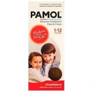 【PD新西兰药房】Pamol 宝宝发烧止痛液(草莓味) 100ml 每单限购2件