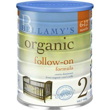 【澳洲PO药房】【爸爸去哪儿嗯哼同款】Bellamy's 贝拉米 有机婴幼儿配方奶粉 (2段▄■▄■)