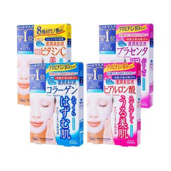 【多庆屋】高丝补水亮白面膜礼包(含4盒)