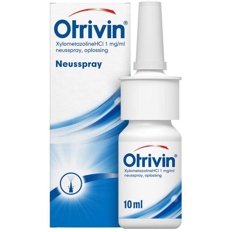 【荷兰DOD】Otrivin 安鼻灵 鼻腔喷雾剂(1mg/ml赛洛唑啉盐酸盐)10ml