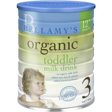 【澳洲PO药房】Bellamy's 贝拉米 有机婴幼儿配方奶粉 (3段) 1岁+ 900g