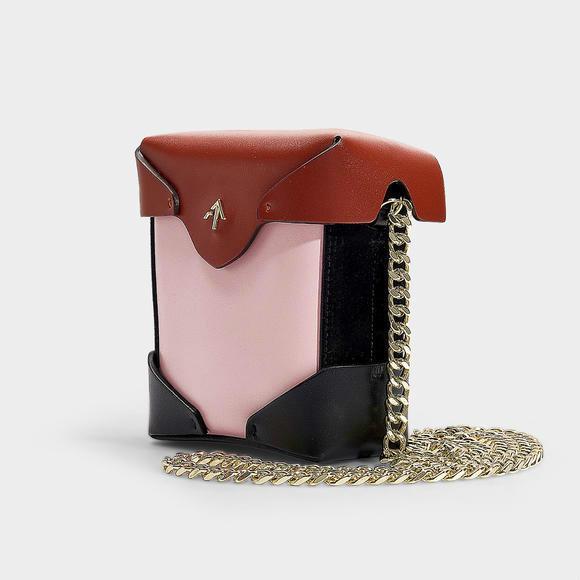 Manu Atelier Pristine Combo micro链条女士手袋