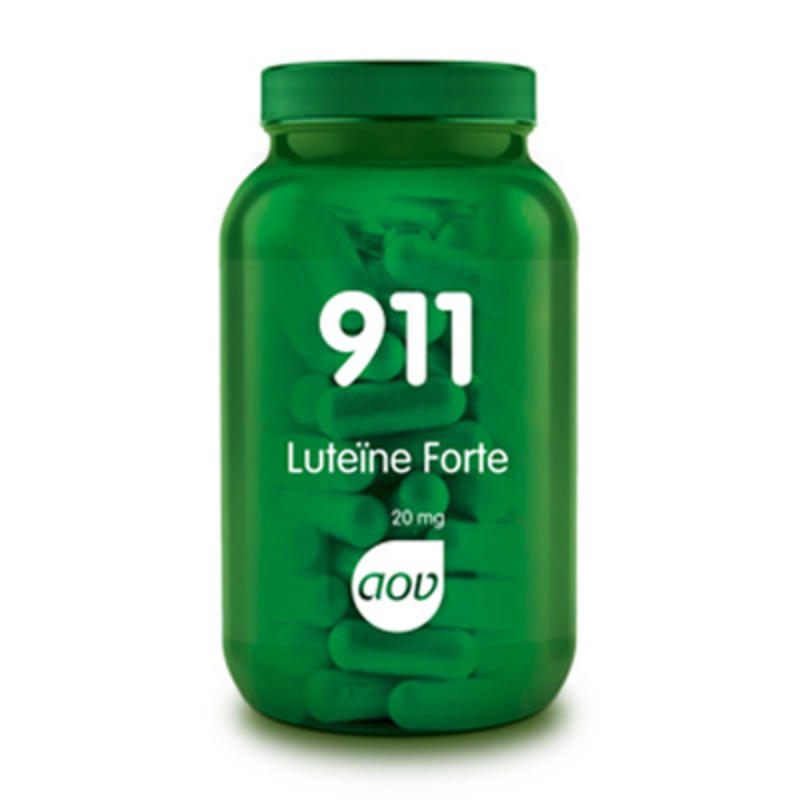 【荷兰DOD】AOV 911叶黄素复合护眼胶囊(加强型) 60粒