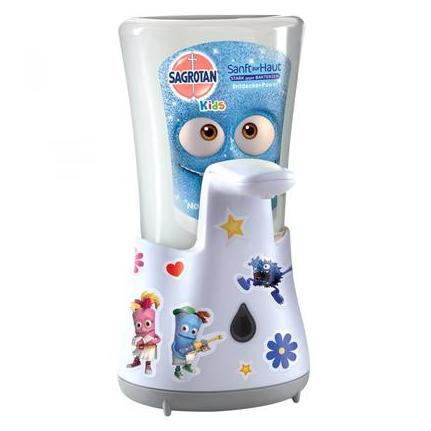 【DC德国药房】Sagrotan 宝宝儿童自动感应洗手液器 带洗手液 无需按压接触