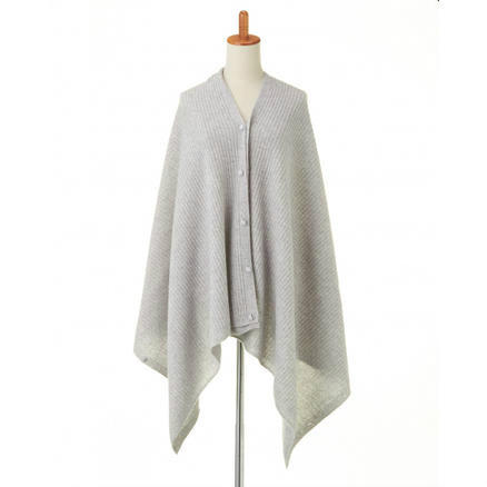 【GLADD】PREMIUM針織羊絨披肩
