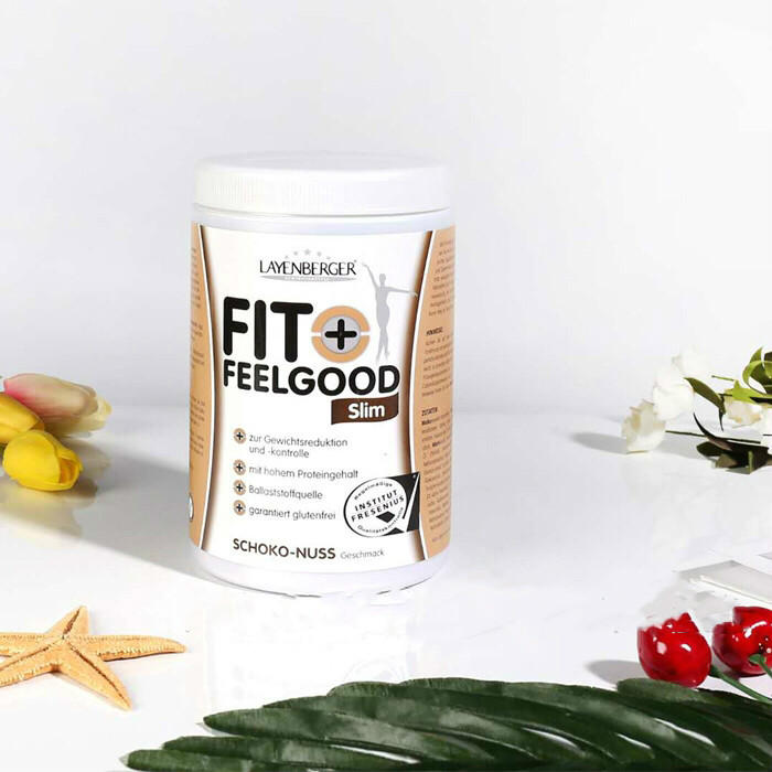 【德国BA】Layenberger 健康瘦身代餐植物蛋白粉 巧克力坚果味 430g