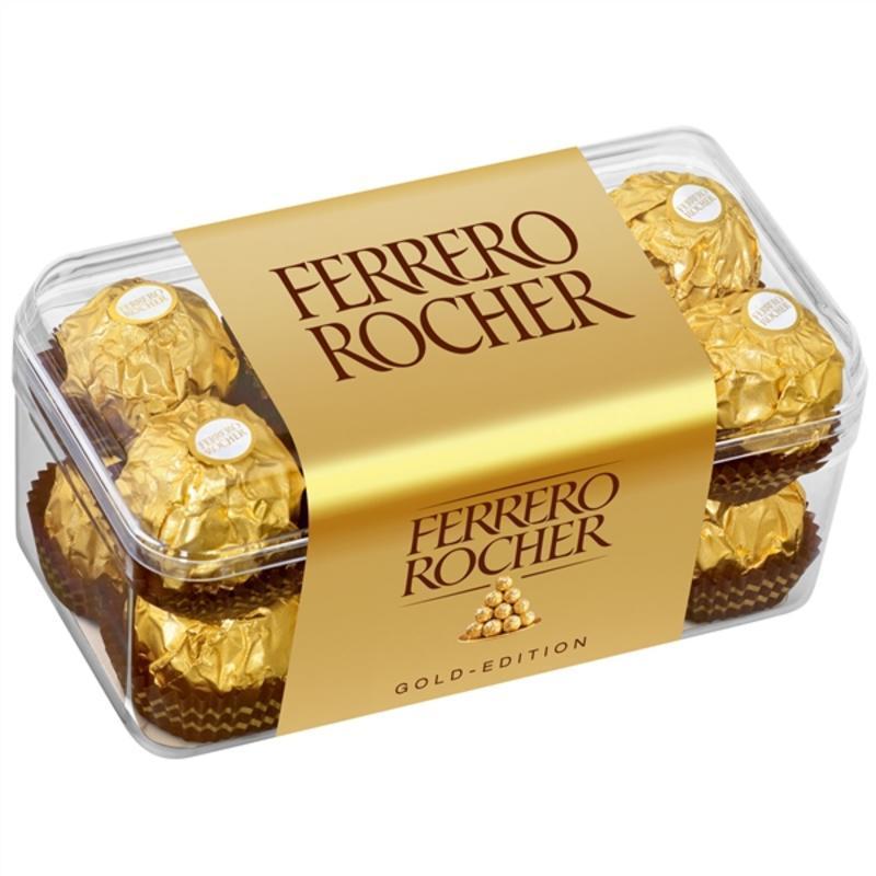 【德国BA】Ferrero 费列罗金莎榛果巧克力 16粒 200g