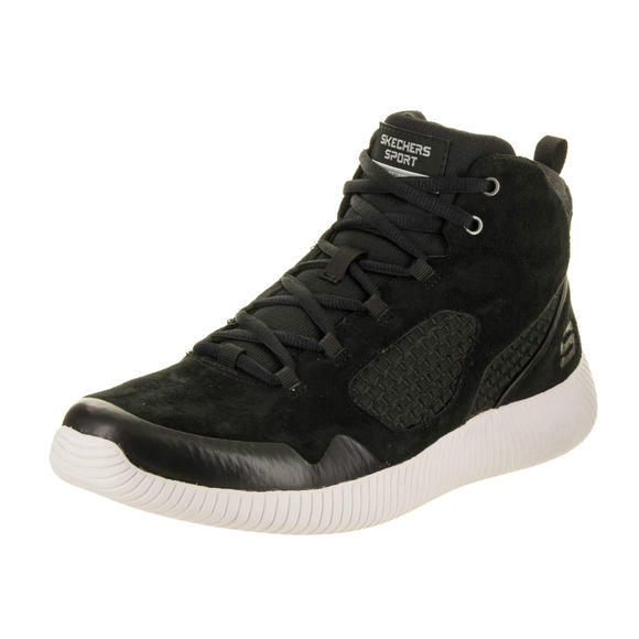 Skechers 男士 Depth Charge - Drango Black Boot 8.5 Men US运动鞋
