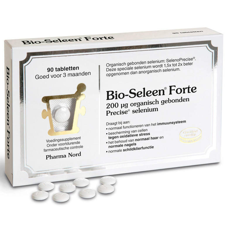 【荷兰DOD】Pharma Nord 法尔诺德 Bio-Seleen Forte硒片补硒有机硒片 90片