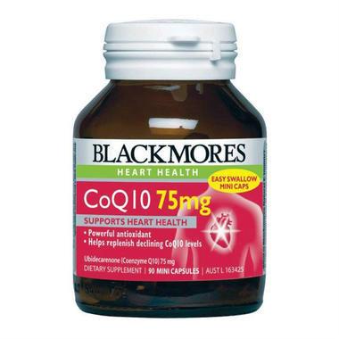 【澳洲PO药房】Blackmores 澳佳宝 辅酶Q10保护心血管营养素 90粒x75mg