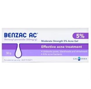 【PD新西兰药房】Benzac 5%温和控油去痘凝胶 50g