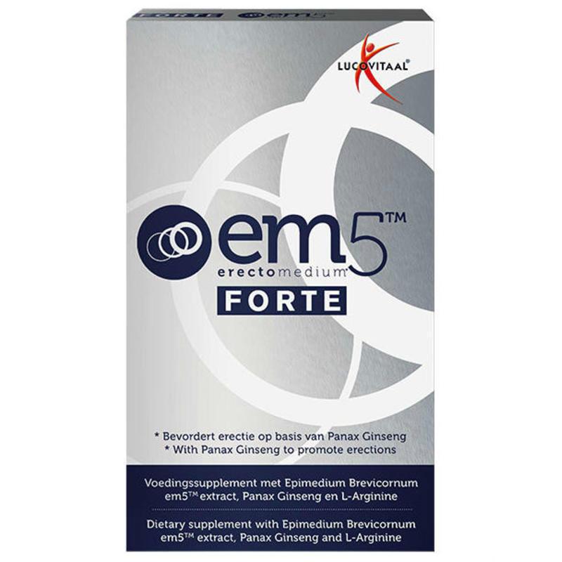 【荷兰DOD】Lucovitaal EM5 精氨酸男性健康勃起胶囊 6粒 增强性欲延长时间