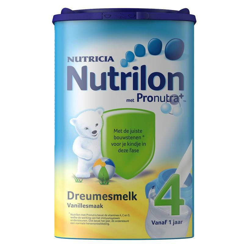 【荷兰DOD】Nutrilon 牛栏/诺优能 婴幼儿标准配方奶粉4段(香草味)800g