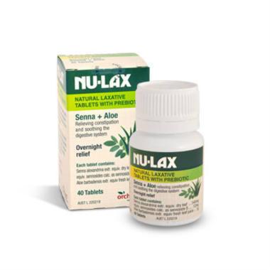 【澳洲PO药房】Nu-Lax 乐康膏 天然通便剂 40片