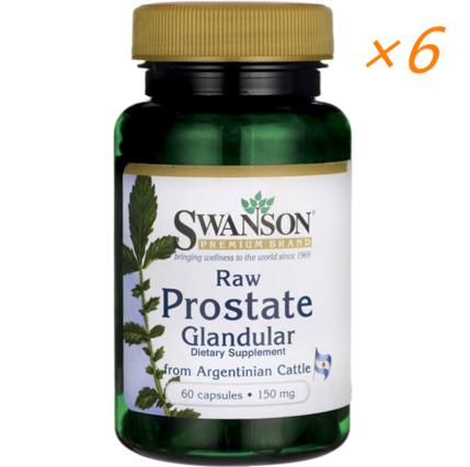 【美国Swanson】Swanson 男性前列腺胶囊(预防及改善前列腺增生、前列腺炎) 60粒(六件装)