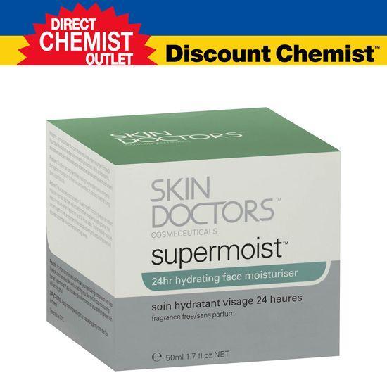 【单品包邮】Skin Doctors 24小时面部超级保湿防晒面霜 50mL