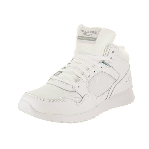 SKECHERS 斯凯奇男士 Zimsey-Warmack 白色休闲鞋10.5运动鞋