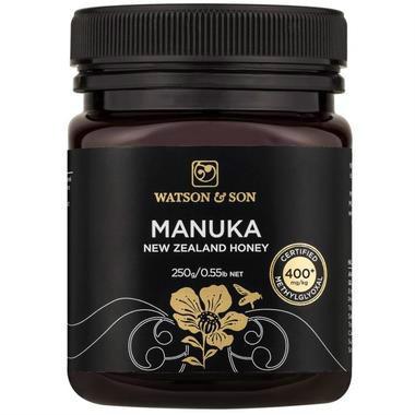 【澳洲PO药房】【冰冰同款】Watson & Son Manuka Honey 沃森 麦卢卡蜂蜜 MGO 400+ 250g