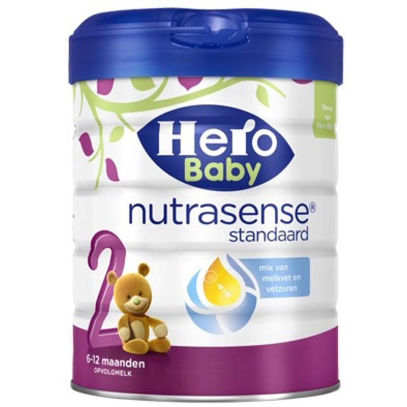 【荷兰DOD】Hero Baby 婴幼儿2段营养奶粉(适合6个月以上婴幼儿)800g
