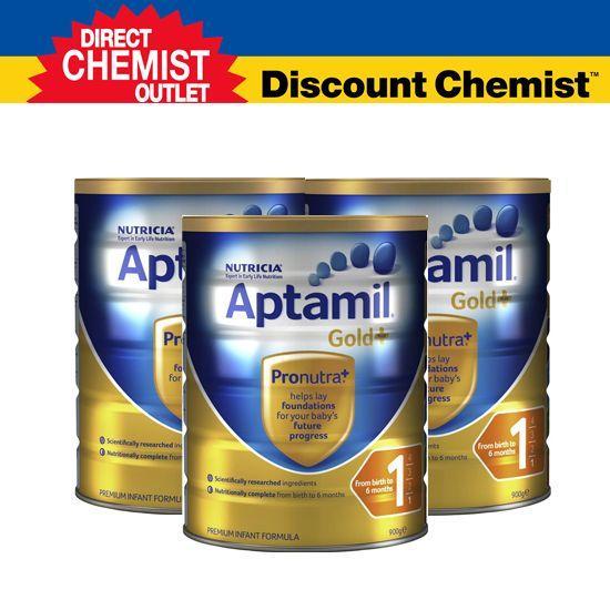 【三罐包邮包税 】Aptamil爱他美金装奶粉1段