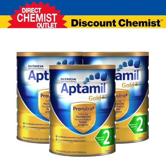 【三罐包邮包税】 Aptamil爱他美金装奶粉2段