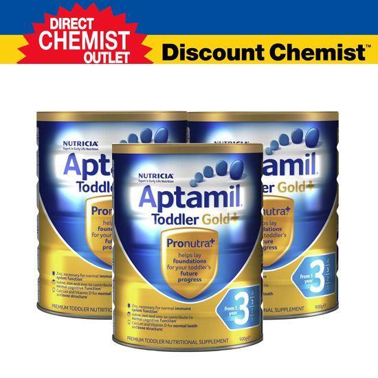 【三罐包邮包税】 Aptamil爱他美金装奶粉3段