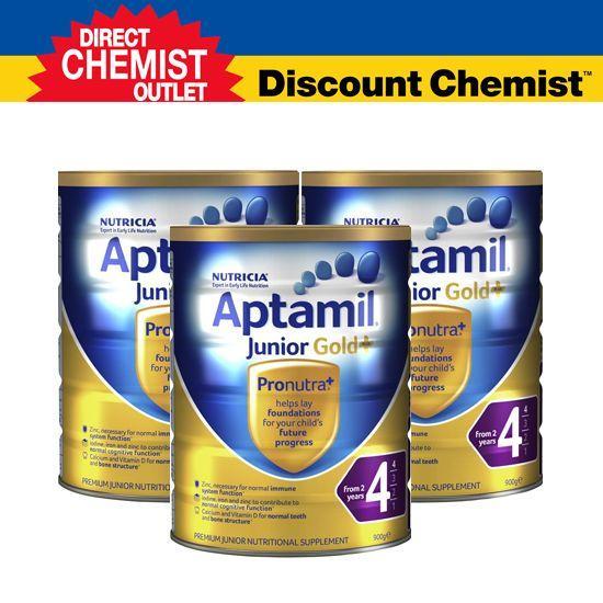 【三罐包邮包税】 Aptamil爱他美金装奶粉4段