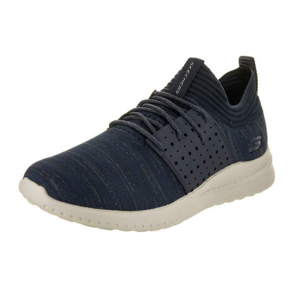 Skechers 男士 Skyline - Silsher Navy Training Shoe 8.5 Men US运动鞋