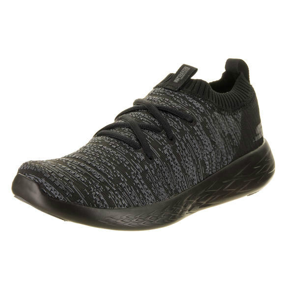 Skechers 男士Go Run 600 - Utilize Black Running Shoe 8.5 Men US运动鞋