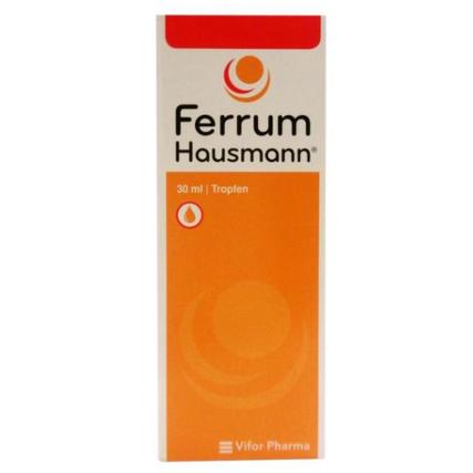 【DC德国药房】Ferrum Hausmann 婴儿儿童孕妇补铁补血液 30ml