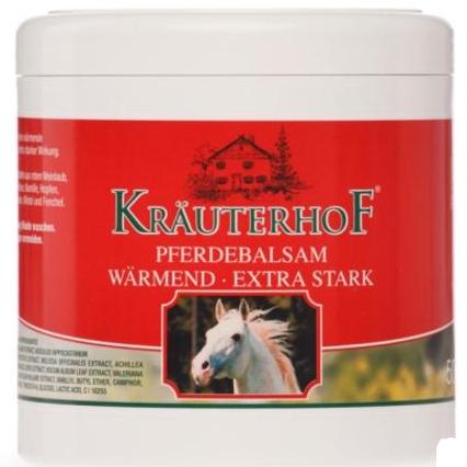 【DC德国药房】Krauterhof 草本庄园 马栗极强发热按摩马膏 多种天然草本 250ml