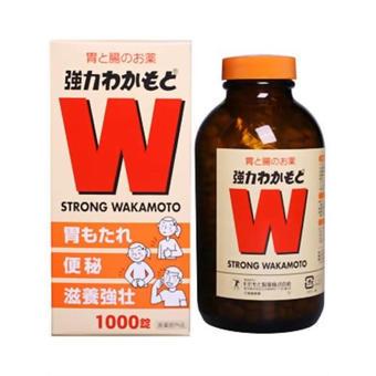 【多庆屋】wakamoto健胃清肠通秘W强力活性酵素 1000片