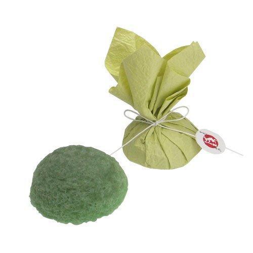 【松屋百货】makanai 金箔屋膳妆魔芋洁面海绵 绿茶精华