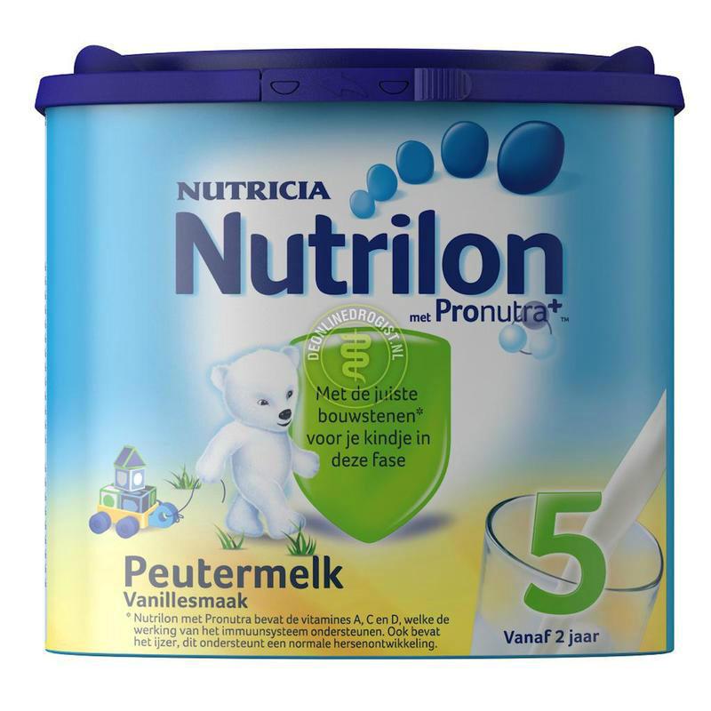 【荷兰DOD】Nutrilon 牛栏/诺优能 婴幼儿标准配方奶粉5段(香草味)400g