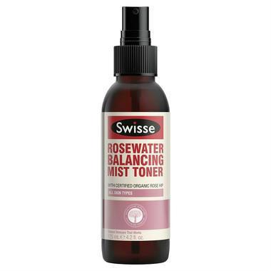 【澳洲PO药房】Swisse 玫瑰水舒缓平衡喷雾爽肤水 125ml