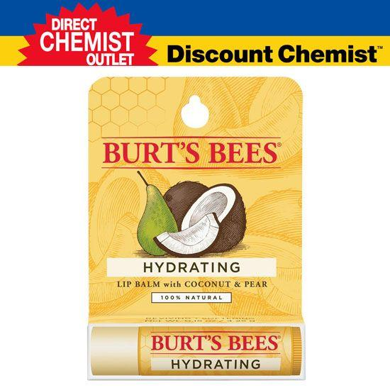 Burt&#039s Bees 小蜜蜂 椰子香梨味润唇膏 4.25G