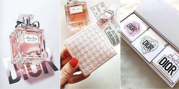 "Miss Dior为情人节推出""小粉皂礼盒"""