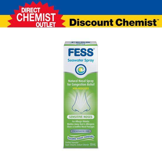 Fess 敏感鼻炎 海水配方喷雾 30 ml