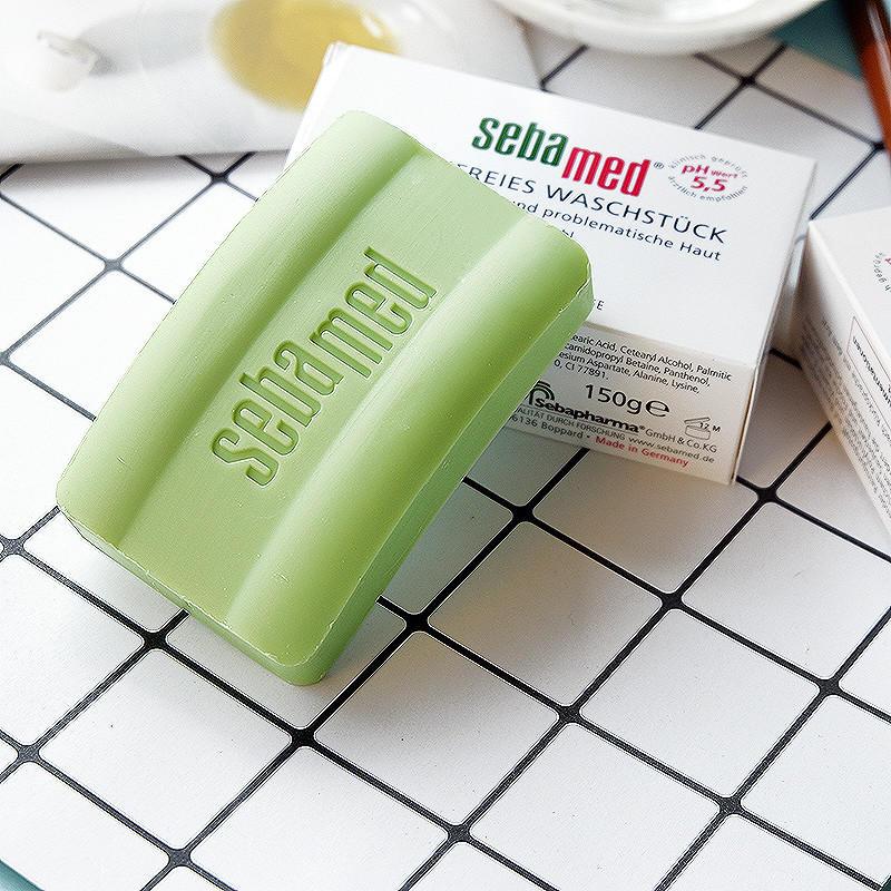 【德国BA】Sebamed 施巴抗敏感祛痘洁肤皂 绿皂 50g