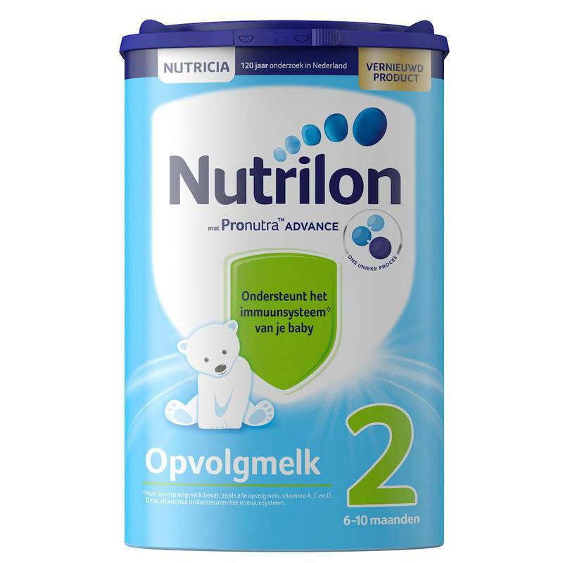 【荷兰DOD】Nutrilon 牛栏/诺优能 婴幼儿标准配方奶粉2段 800g