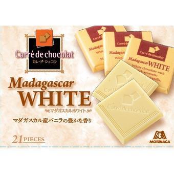 【多庆屋】森永morinaga 法式方形白巧克力 21块
