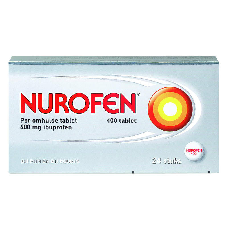【荷兰DOD】Nurofen 布诺芬 400mg 止痛片 24片 缓解头痛/肌肉疼痛/背痛/月经痛/牙痛