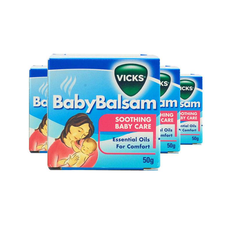 【4件包邮装】Vicks 婴幼儿宝宝止咳通鼻舒缓膏 50g4