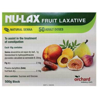 【澳洲PO药房】Nu-Lax 乐康膏 天然果蔬润肠通便 500g