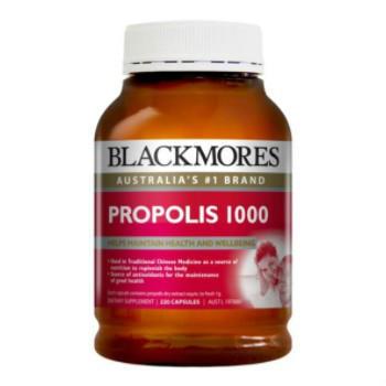 【澳洲CD药房】Blackmores 澳佳宝 蜂胶软胶囊 1000mg 220粒