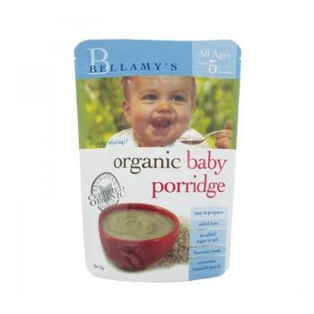 【澳洲CD药房】Bellamy&#039s 贝拉米 有机婴幼儿麦片粥 宝宝辅食 5个月以上 125g